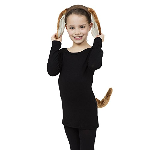(Child Fancy Dress Dog Set (ears And)