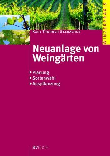 Neuanlage Von Weingärten  Planung   Sortenwahl   Auspflanzungen