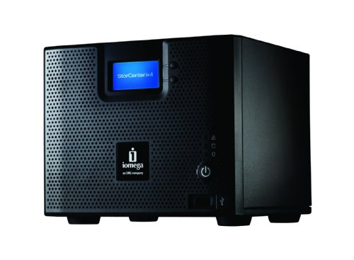 Iomega StorCenter Pro ix4-200d 8 TB (4 X 2 TB) Network Attached Storage Server 34563