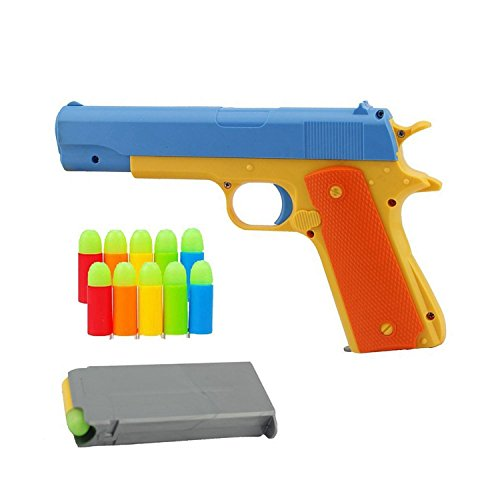 Classic Colt 1911 toy gun with soft bombs, pop-up magazines, outdoor toys suitable for outdoor sports -1:1 Replica of an M1911A1 Colt 45