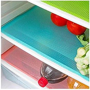 Amazon.com: ofnmy 8pcs grueso refrigerador alfombrillas 17,7 ...