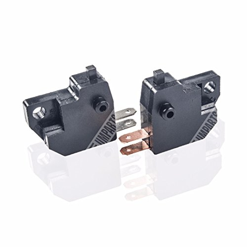 (sw01) UMPARTS Pair Front & Rear Brake Light Switch for 150cc 125cc GY6 engine based Sport Style scooters