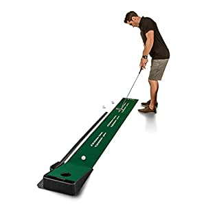 SKLZ Accelerator Pro - Indoor Putting Green With Ball Return (9 feet x 16.25 Inches)