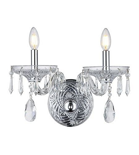 (Elegant Lighting Prescott 5 Light Silver Shade Chandelier)