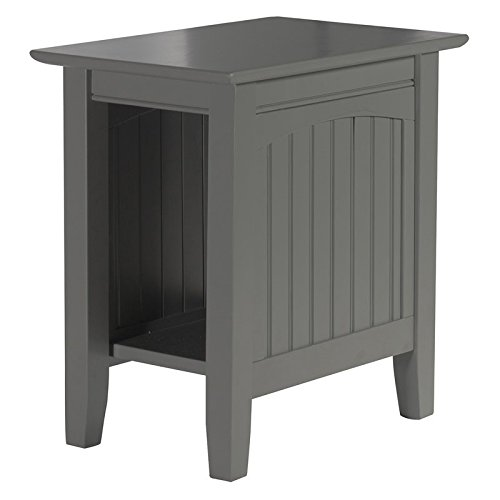 Leo & Lacey Chair Side Table in Grey