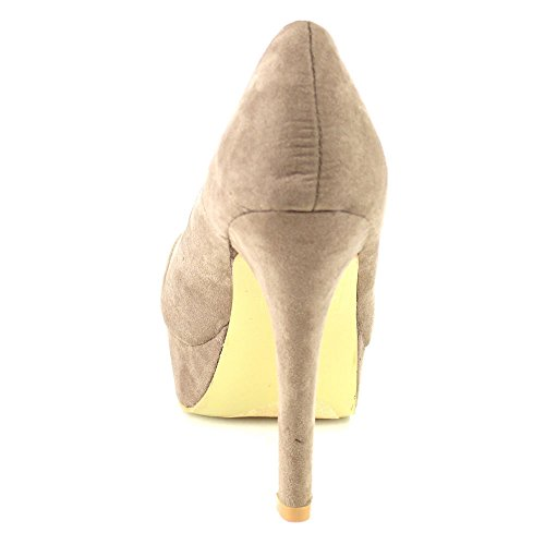 LUCIA Classic Heel 5 TAUPE Womens Platform Size Stiletto MARIE 6 Color Dress 1 High BELLA Pumps gU5BqnCB