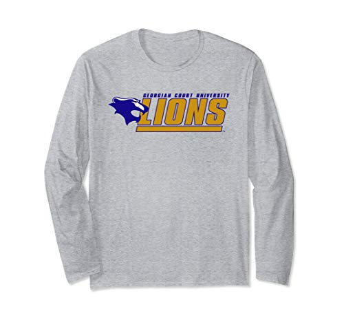 Georgian Court University Lions NCAA Long Sleeve PPGCTU01 ()