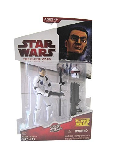 - Star Wars Clone Wars Animated Action Figure Clone Trooper Echo [Toy]