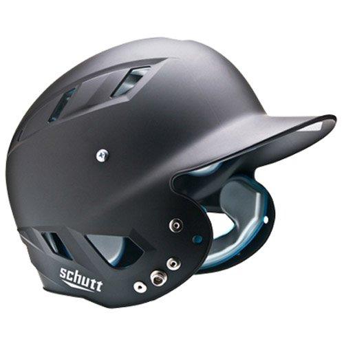 Schutt Sports AiR Maxx T Softball Batter's Helmet, Matte Black, Medium