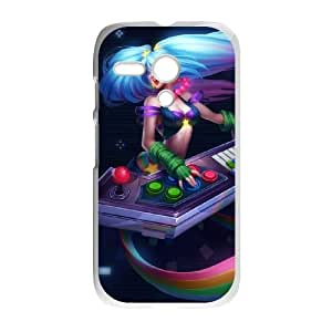 Motorola G Phone Cover White League of Legends Arcade Sona EUA15971488 Hard Unique Cell Phone