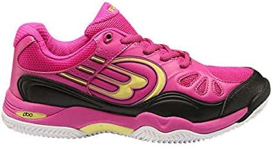 Bull padel Zapatillas BULLPADEL BIZAR Rosa Amarillo 2016: Amazon ...