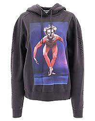 Acne Studios Women S Ai0023washedblack Black Cotton Sweatshirt