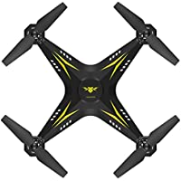 Glorrt 2.4G HD Camera FPV WIFI Drone Quadcopter UAV Remote Control Helicopter Real-time (YE)