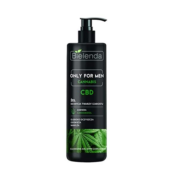 Bielenda Only For Men Deep Cleansing Facial Wash Gel with Hemp 190g
