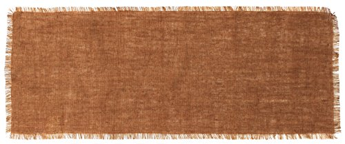 36' Table Runner (Country House Collection Primitive Burlap Table Runner - 36'' x 13'' (Cocoa))
