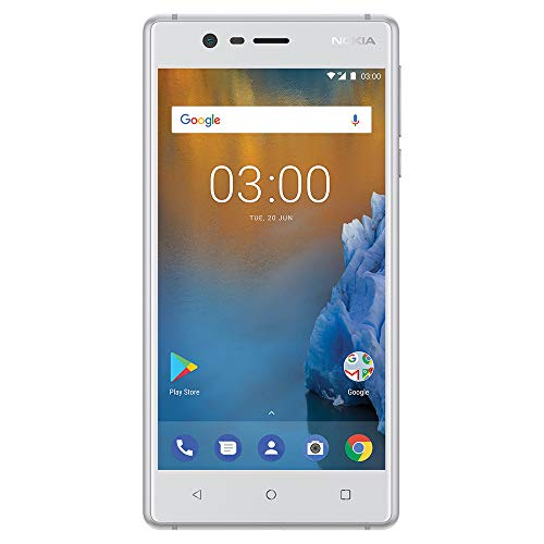 Nokia 3 - Android One (Oreo) - 16 GB - Unlocked Smartphone (at&T/T-Mobile/MetroPCS/Cricket/H2O) - 5.0