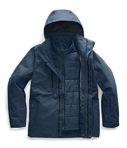 The North Face Men's Clement Triclimate Jacket Blue Wing Teal (North Face Jacket Ski Triclimate)