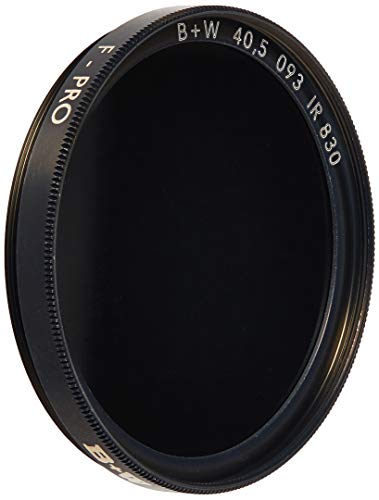 B+W 40.5mm Infrared Pass Camera Lens Filter, Black 093 by B+W