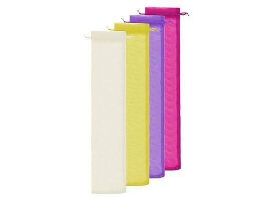 Lote de 100 Bolsas de Tull Lisas (Colores a Elegir ...