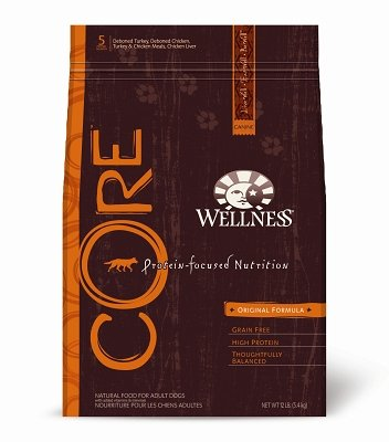 WELLPET, LLC - WELLNESS DOG CORE ORIGINAL 12 LB