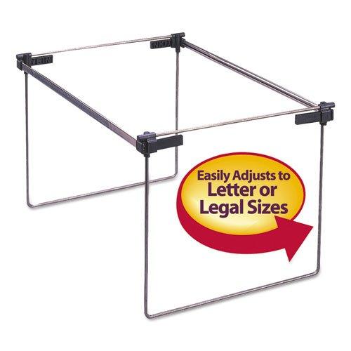 Smead/® Hanging Folder Frame Letter//Legal Size Two Per Box Steel 19-24 Long