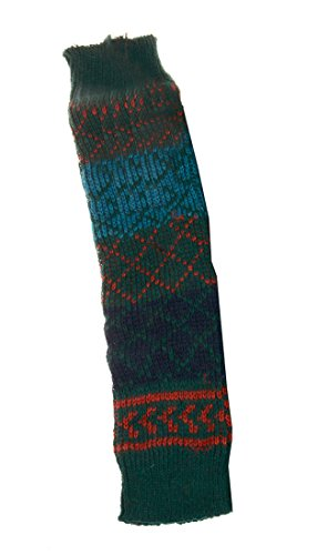 Bronze Times Tigh High Crochet Warmers