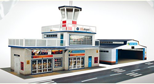 Kit Airport - O gauge 7mm 1:48 scale Model Railroad Building AIRPORT Kit The CityBuilder