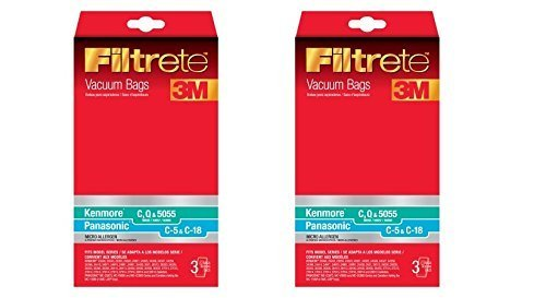 Filtrete Kenmore C  compatible with Panasonic C-5 Micro Alle