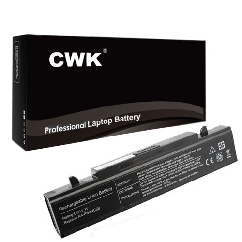 CWK 9 Cell High Capacity Laptop Notebook Battery for Sams...