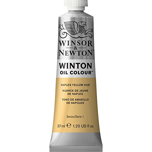 Winton Oil Paint 37ml/Tube-Naples Yellow Hue