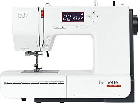Bernette 37, computerized utilidad máquina de coser costuras decorativas quiltstich con un gran leistungsumfang y überzeugender stichqualität von Bernina: ...