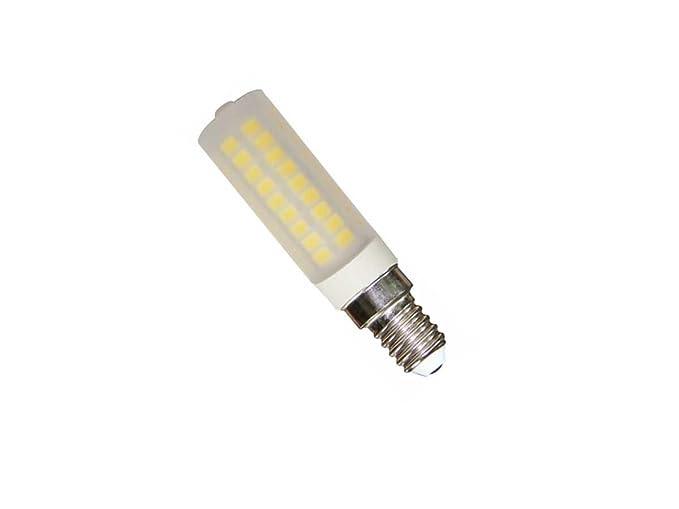 Lampada Tubolare E14 : Lampada led mini tubolare opacizzata e w lumen k