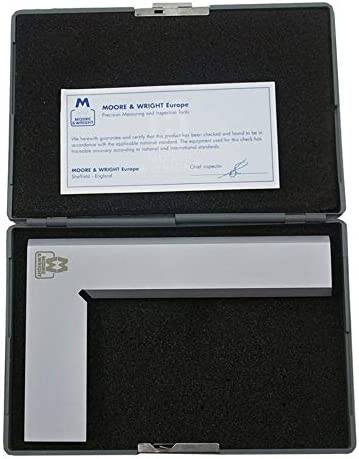 Moore and Wright 150x100mm Precision Engineers Squares MW910-05