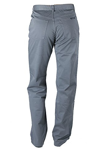 MARINA YACHTING Jeans Hose Grau Baumwolle