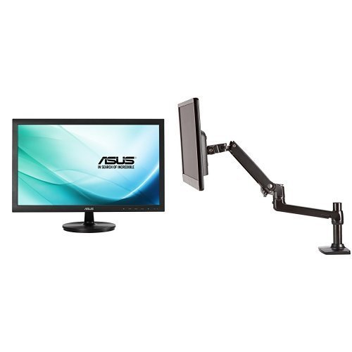 "Asus VS247H-P 23.6"" Full HD 1920x1080 2ms HDMI DVI-D VGA ..."