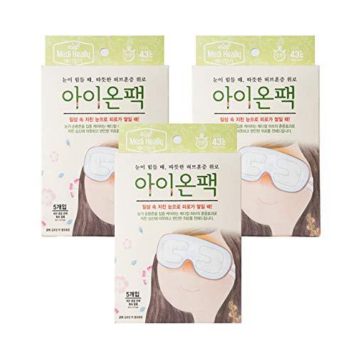 (Medi-Heally Herbal Relief Heating Patch Eye-on 3 Packs (15ea))