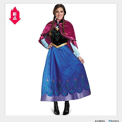 Halloween Costume, Ice Romance Cosplay Queen Costume,XL