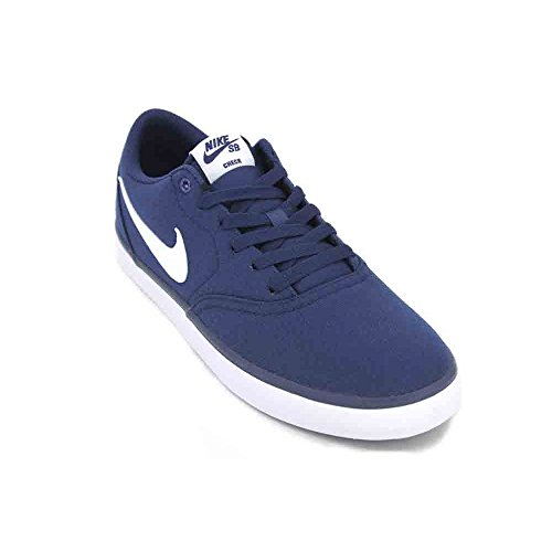 - Nike 843896-400: SB Check Solarsoft Men's Midnight Navy/White Sneakers (11 D(M) US Men)