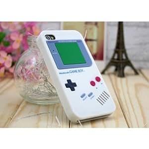 SANOXYÂ Iphone 4S 4 Nintendo Game Boy Silicone Case White Color HIGH QUALITY GUARA...