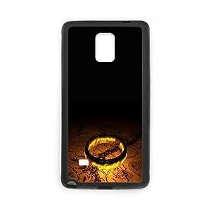 El Señor de los Anillos Z6N1Vw Funda Samsung Galaxy Note 4 caja del teléfono celular Funda Negro Z8Y3TU únicos funda durable de casos