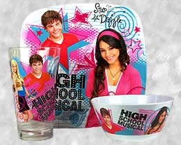 High School Musical Dinner Plate