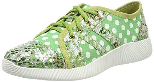 11 Vita Verde Para Mujer vert Zapatillas Vert Delphine Laura xq746AqB