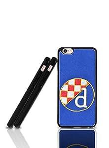 IPhone 6 Plus Plastic Funda Case IPhone 6 Plus, Dinamo Zagreb Football Logo Famous Theme & Slim Scratch Resistant Hard Plastic Phone Cover + Drop Protection Back Funda Case Fit IPhone 6 Plus/Iphone 6s Plus + 5.5 inch