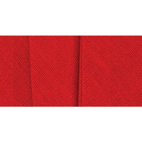Wrights 117-202-076 Wide Single Fold Bias Tape, Scarlet, 3-Yard