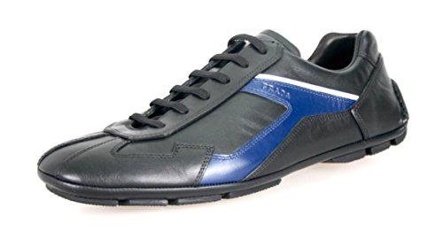 Prada Mens 4e2791 Läder Sneaker