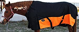 1200D Turnout Waterproof Rain Horse Sheet Light Winter Blanket Gusset 370