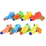 Set Of 5 Squirt Guns Children's Toys Small Water Gun Random Color