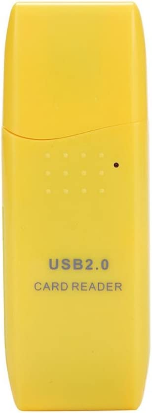 WILLTOO Mini USB 2.0 Micro SD//SDXC TF Card Reader Adapter Yellow