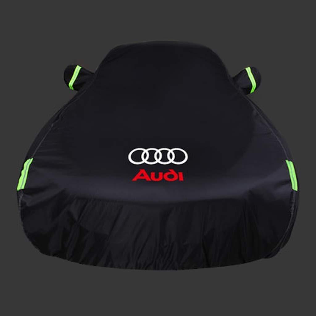 A8 TT de couverture de protection solaire de la voiture Audi A4L A3L A3 WYDM Couverture de voiture Q3 A5 A7 Couleur : LOGO-A5 Q5