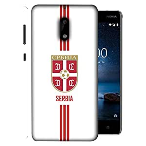 ColorKing Nokia 9 Football White Case shell cover - Fifa Serbia 01